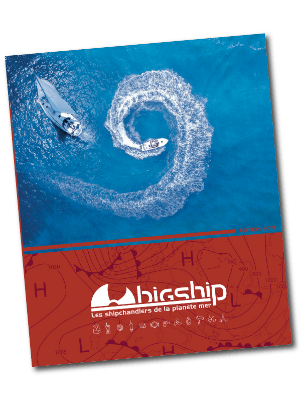 Couverture du catalogue optimisé BIG SHIP imprimé par AGIR GRAPHIC