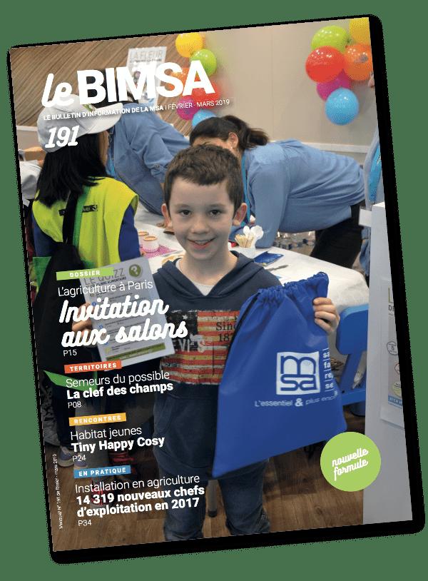 Couverture brochure BIMSA imprimé par AGIR GRAPHIC