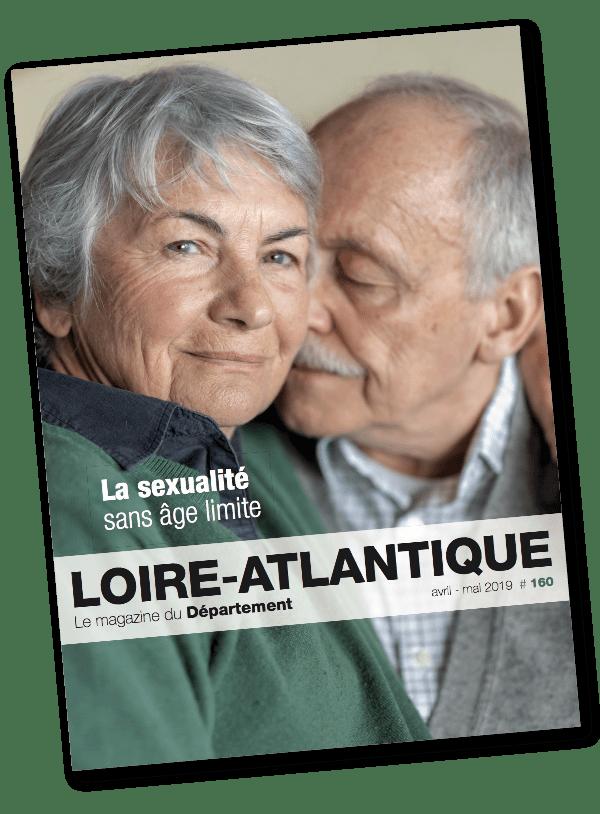 Couverture du magazine Loire atlantique imprimé par AGIR GRAPHIC