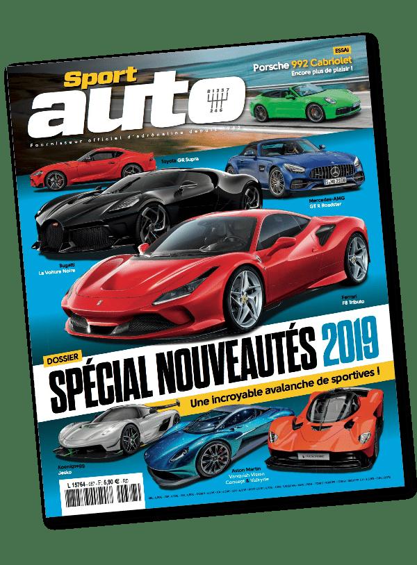 Couverture du magazine sport auto imprimé par AGIR GRAPHIC