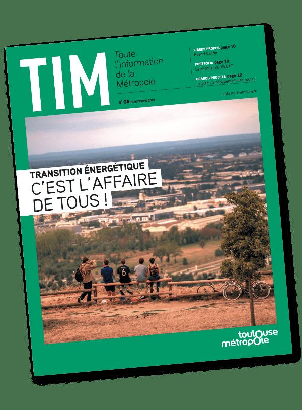 Couverture du brochure TIM TOULOUSE imprimé par AGIR GRAPHIC