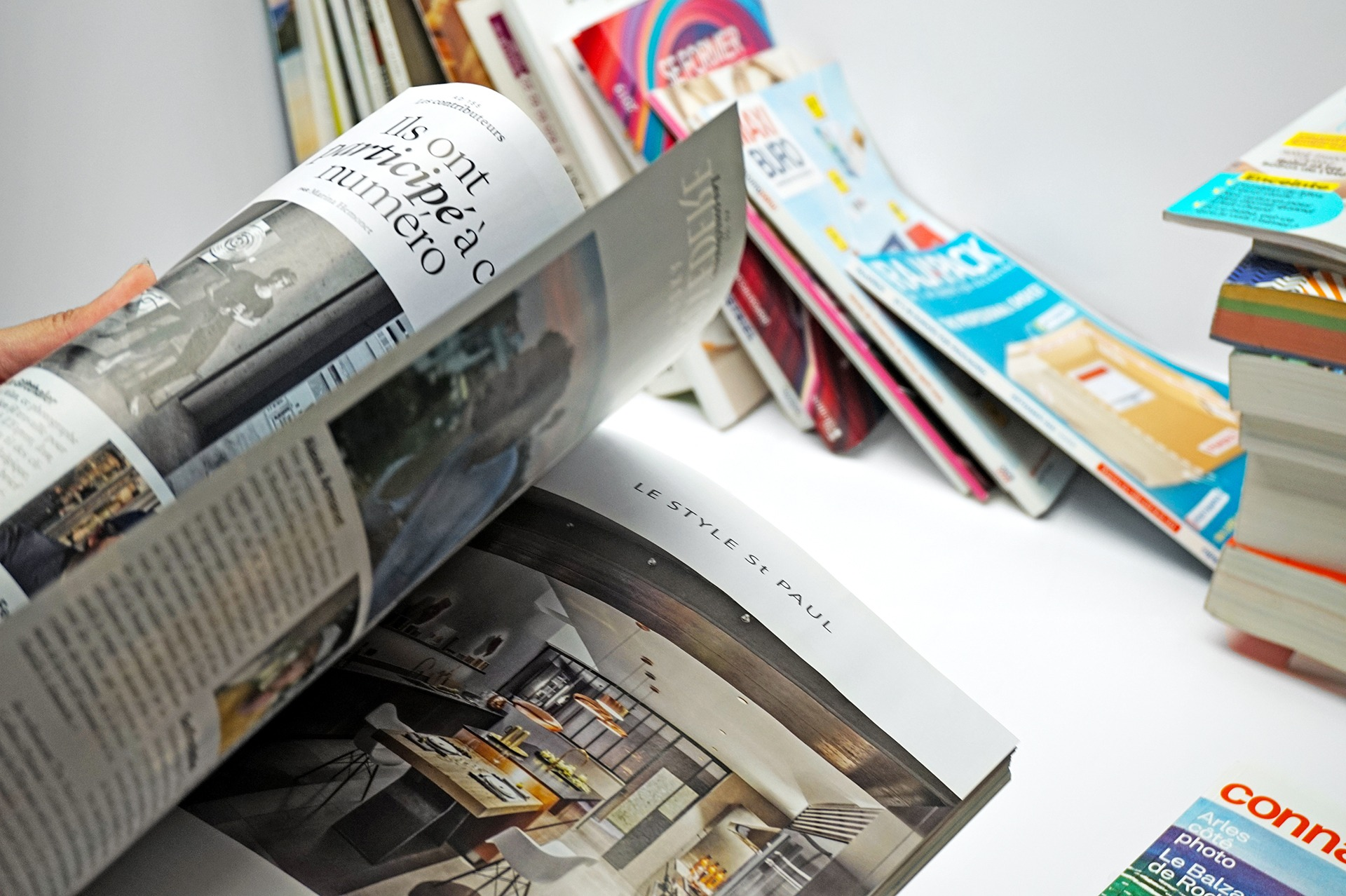 Présentation de nos magazines de marque, dit magalogue