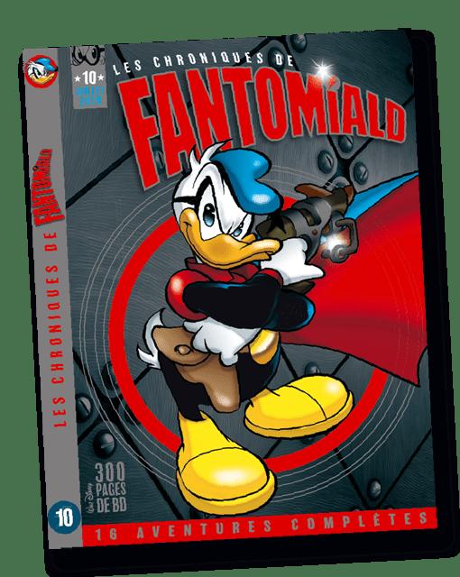 Couverture du magazine Fantomiald été 2019 imprimé par AGIR GRAPHIC