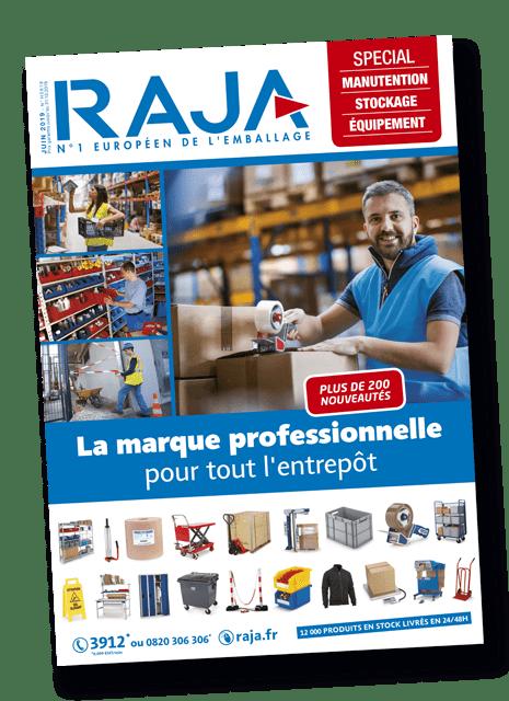 Couverture du catalogue RAJA PRO été 2019 imprimé par AGIR GRAPHIC