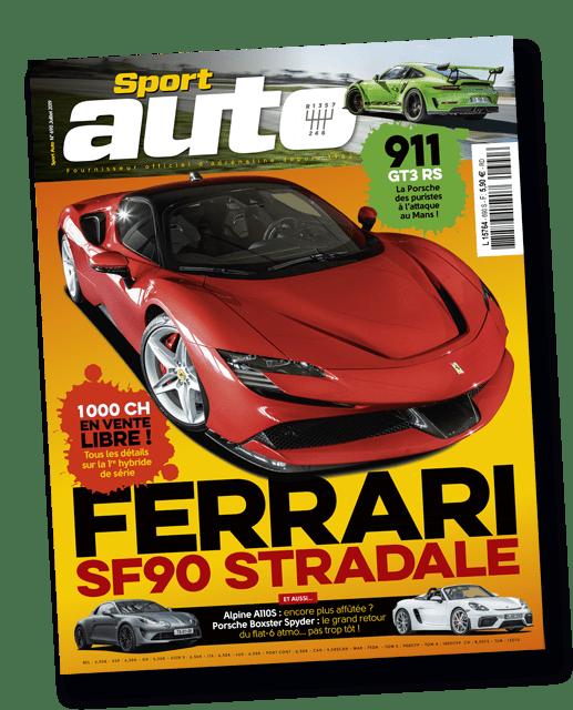 Couverture du magazine Sport Auto été 2019 imprimé par AGIR GRAPHIC