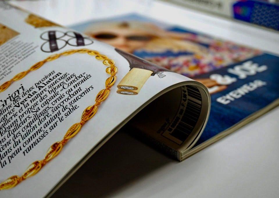 Magazine ouvert