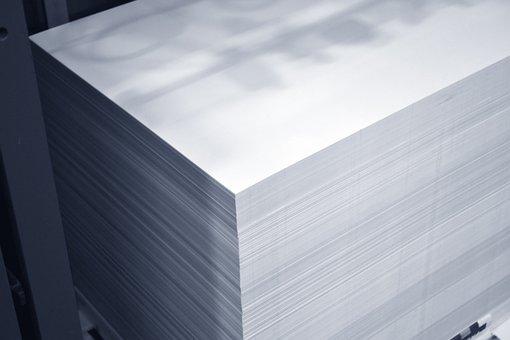 Bloc de papier imprimé