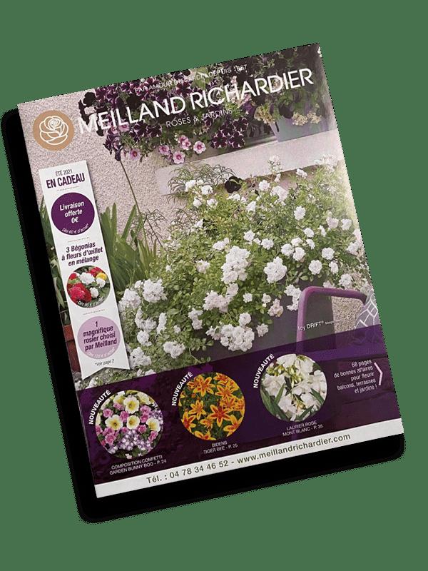 Client d'impression catalogue : Meilland Richardier