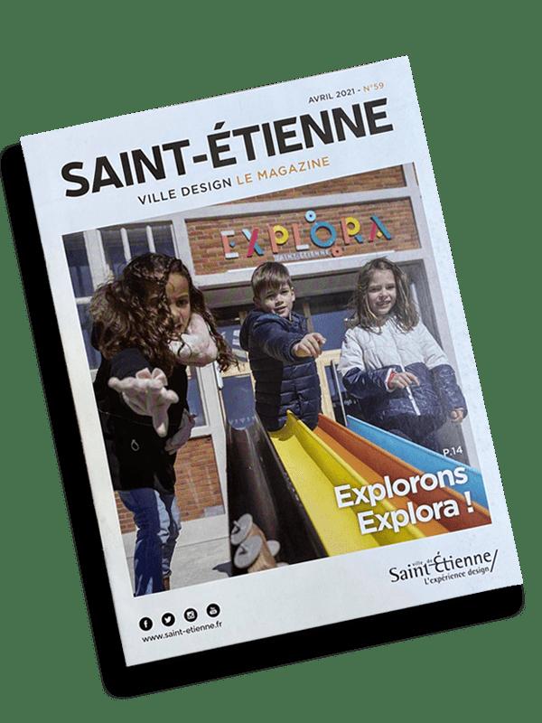 Référence client : Mag Ville de Saint-étienne