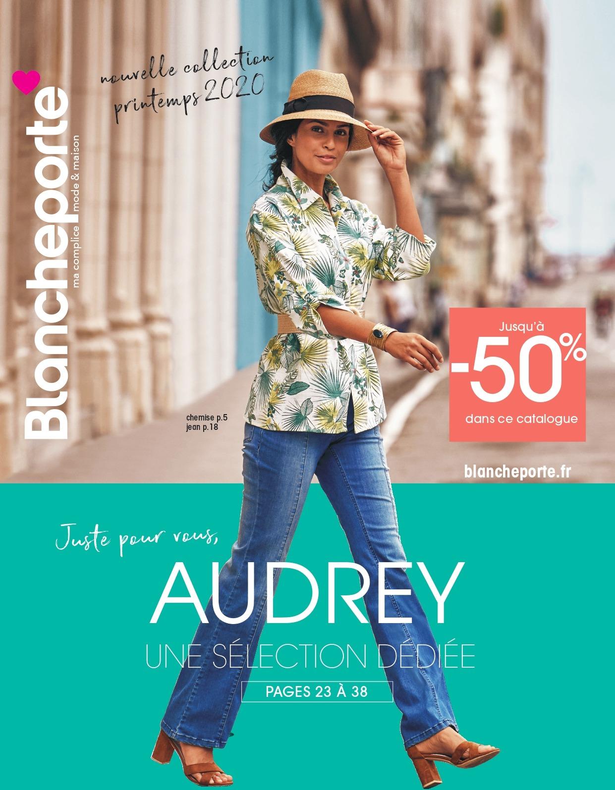 Catalogue Blancheporte connecté