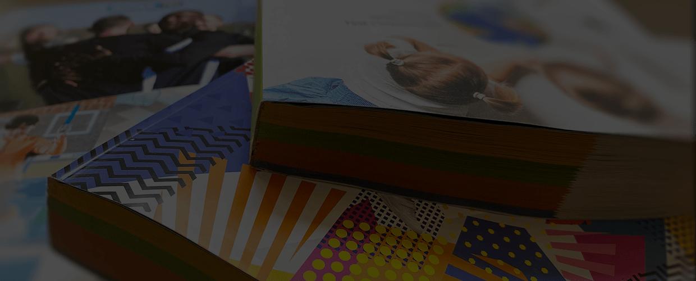 Catalogue imprimée : finition carré collé (DCC)