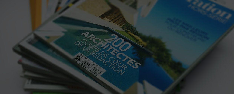 Magazine imprimée : couverture art & décoration