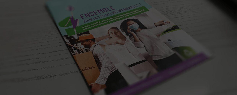 Brochure imprimée : mutuelles, banques et assurances - prévention